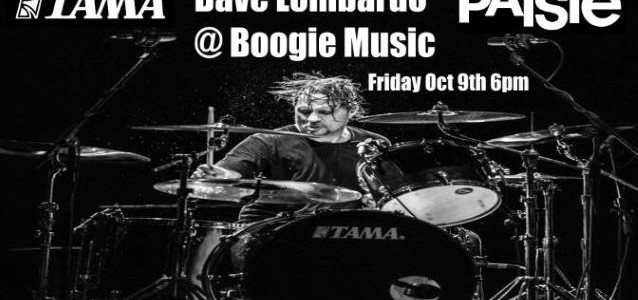 DAVE LOMBARDO: Video Footage Of Phoenix Drum Clinic