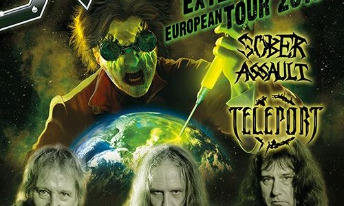 Video: RAVEN Performs In Slovenia For First Time
