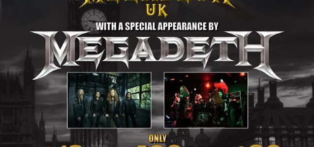 Video: MEGADETH Performs At Special Fan-Club Party In London