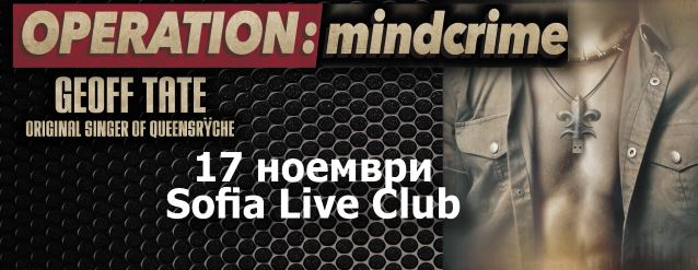 Video: GEOFF TATE's OPERATION: MINDCRIME Performs In Bulgaria