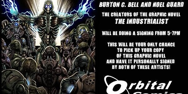 FEAR FACTORY's BURTON C. BELL To Sign Copies Of His Graphic Novel 'The Industrialist' In London