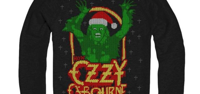 OZZY OSBOURNE 'Ugly Christmas Sweater' Now Available