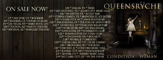 QUEENSRŸCHE Is Planning Brand New Setlist For Upcoming Headlining Tour