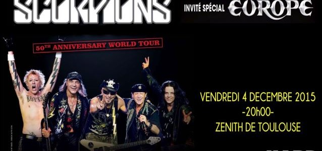 Video: EUROPE Performs In Toulouse, France
