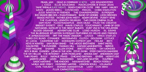 LAMB OF GOD, CLUTCH To Play This Year's BONNAROO MUSIC AND ARTS FESTIVAL