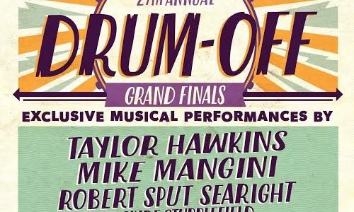 DREAM THEATER's MIKE MANGINI, FOO FIGHTERS' TAYLOR HAWKINS To Perform At 27th Annual 'Drum-Off' Finals