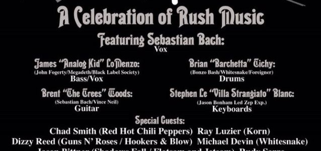 SEBASTIAN BACH, RAY LUZIER, RUDY SARZO Perform RUSH Classics At 'Hurry' Event In Anaheim (Video)