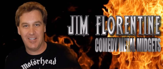 Comedian JIM FLORENTINE Pays Tribute To LEMMY On 'Comedy Metal Midgets' Podcast (Audio)