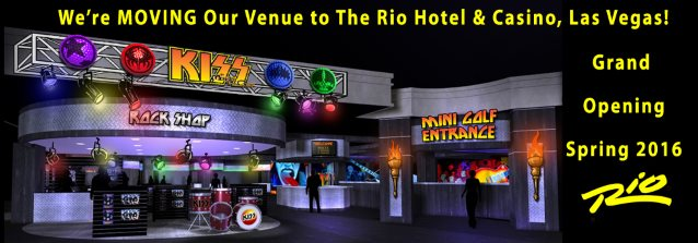 'Kiss By Monster Mini Golf' Moving To Rio All-Suite Hotel And Casino In Las Vegas
