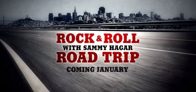 New Trailer For SAMMY HAGAR's AXS TV Show 'Road Trip'