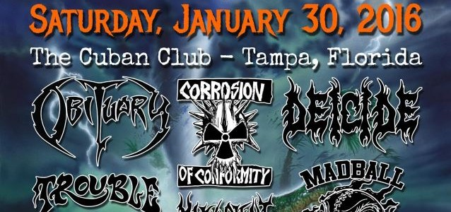 Video: TROUBLE Performs At First Annual FLORIDA METAL FEST