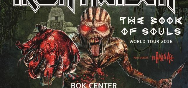 Watch Quality Video Footage Of IRON MAIDEN's Tulsa Concert