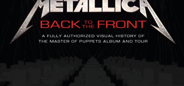 METALLICA: Sample Pages From 'Back To The Front' Book About Making Of 'Master Of Puppets'