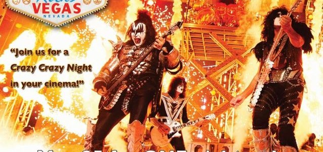 KISS To Rock Movie Theaters Worldwide With New Concert Film 'Kiss Rocks Vegas'