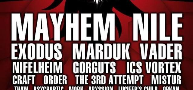 Video: MAYHEM Rejoined By Former Singers, Drummer At INFERNO Festival