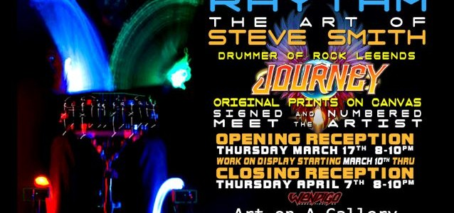 JOURNEY Drummer STEVE SMITH's 'The Fabric Of Rhythm' Art Exhibit To Open In New York City