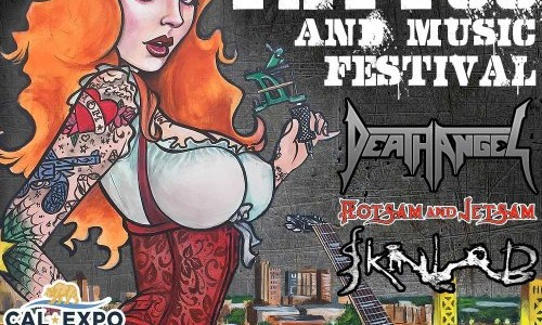 Video: DEATH ANGEL Performs At NorCal Tattoo And Music Festival