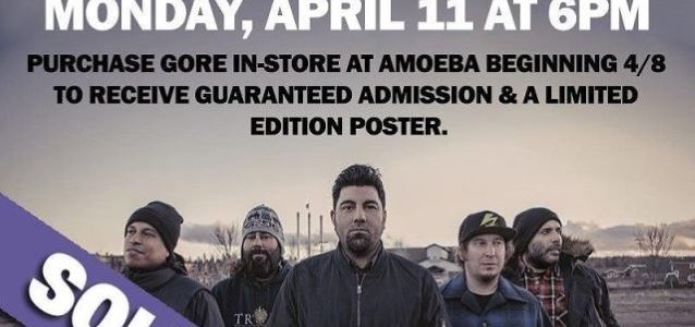 Video: DEFTONES Perform At Amoeba Record Store In Hollywood