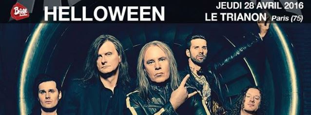 HELLOWEEN: Video Footage Of Paris Concert