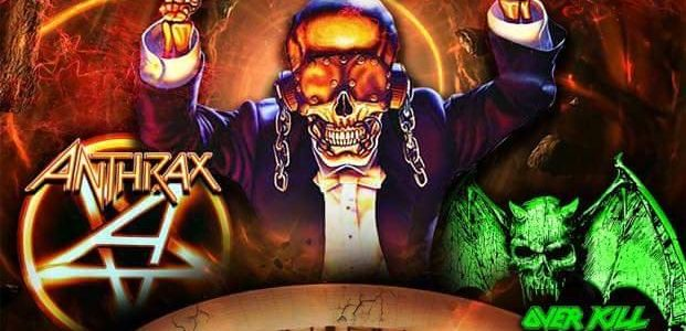 MEGADETH Feat. Drummer TONY LAUREANO: Video Footage Of Puerto Rico Concert