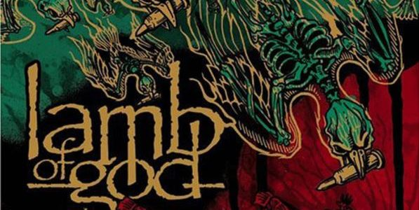 LAMB OF GOD Presented With Gold Plaques For 'Ashes Of The Wake' Album