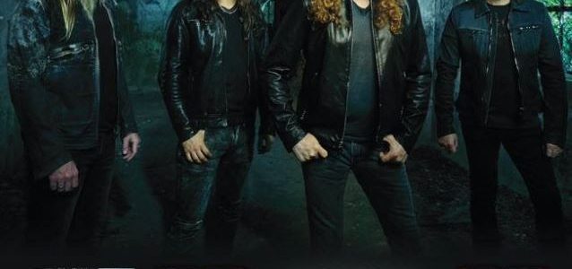 MEGADETH Plays Special USO Show In Norfolk, Visits George Washington Aircraft Carrier