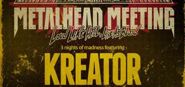 KREATOR: Video Footage Of Entire METALHEAD MEETING Performance