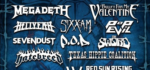 HELLYEAH: Video Footage Of RIVER CITY ROCKFEST Performance
