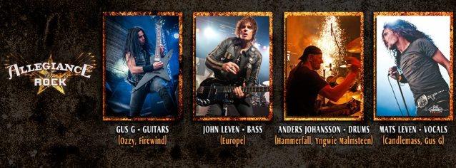 ALLEGIANCE OF ROCK Feat. OZZY OSBOURNE Guitarist, EUROPE Bassist, CANDLEMASS Singer: Video Of HOJROCK Concert