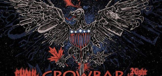 CROWBAR Feat. Returning Bassist TODD 'SEXY T' STRANGE: Video Of Lawrence, Kansas Concert