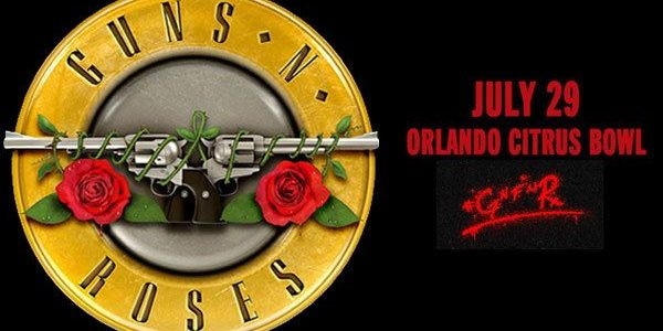Video: GUNS N' ROSES Performs In Orlando