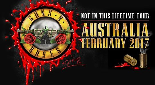 GUNS N' ROSES: Australian Tour Dates Officially Announced