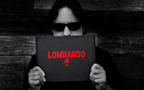 Ex-SLAYER Drummer DAVE LOMBARDO: Audio Preview Of Book And Vinyl Package Showcasing His Artwork