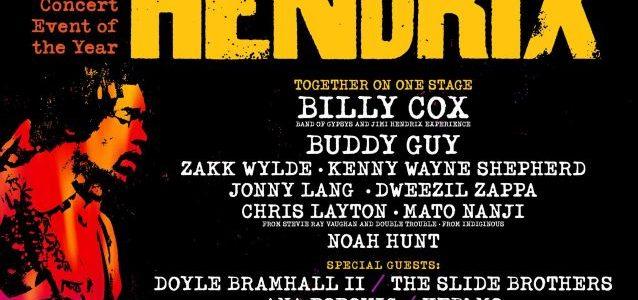 ZAKK WYLDE Set For 2017 'Experience Hendrix Tour'