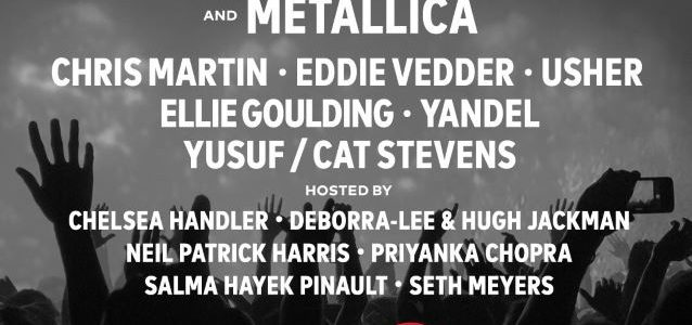 Watch METALLICA's Entire Performance At GLOBAL CITIZEN Festival