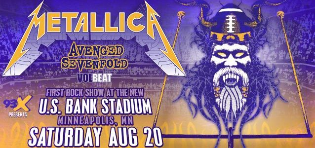 METALLICA: 'All-Angle' Lookback At U.S. Bank Stadium Concert