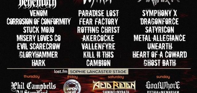 SATYRICON: Pro-Shot Footage Of Entire BLOODSTOCK OPEN AIR Performance