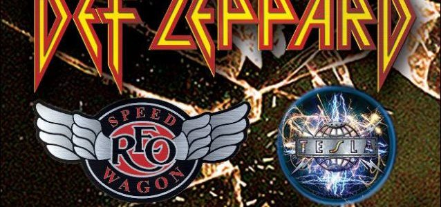 Video: DEF LEPPARD's PHIL COLLEN Performs With TESLA In Eugene, Oregon