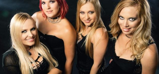 Watch Slovenian All-Female Heavy Metal Band HELLCATS Perform SCORPIONS Cover