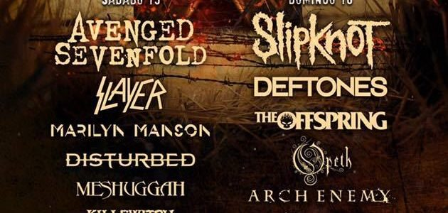 Video: SLIPKNOT Performs At KNOTFEST MEXICO