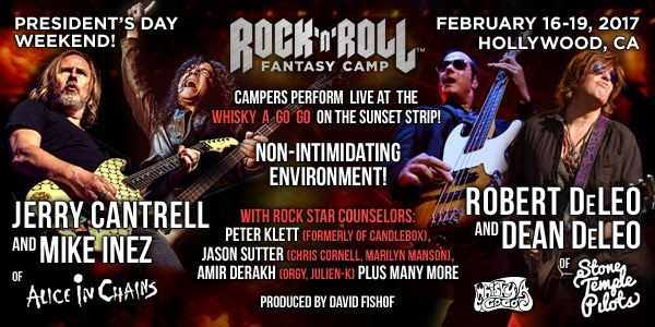 BUCKCHERRY's JOSH TODD And KEITH NELSON Sign On As Counselors At Next 'Rock 'N' Roll Fantasy Camp'