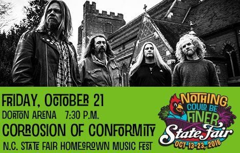 CORROSION OF CONFORMITY: Quality Footage Of North Carolina State Fair Performance