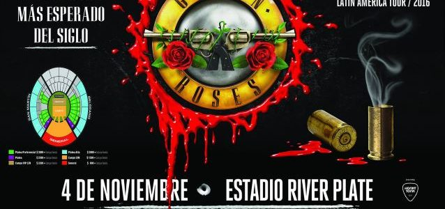 GUNS N' ROSES Fan Punched By Security Guard During Mini-Stampede At Buenos Aires Concert (Video)