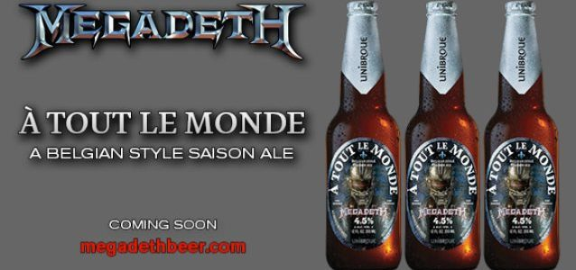 DAVE MUSTAINE Talks MEGADETH Beer: 'I Wanted Something That Had A Really Great Finish On Your Tongue'
