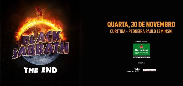 BLACK SABBATH: Quality Video Footage Of Curitiba Concert