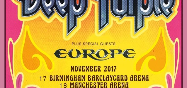DEEP PURPLE Announces 'The Long Goodbye Tour'