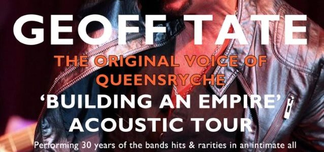 Video: Former QUEENSRŸCHE Singer GEOFF TATE Performs Acoustically In Dublin