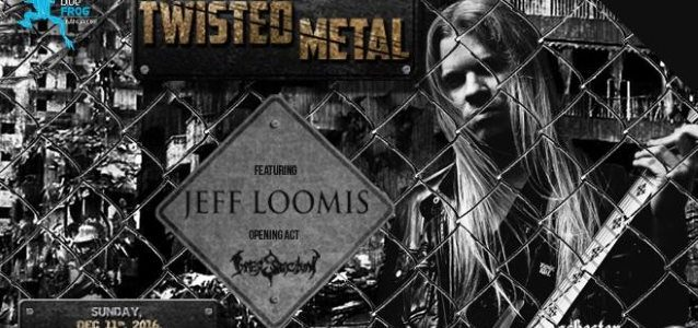 JEFF LOOMIS Says He Will Probably Just Play Solos On Next ARCH ENEMY Album