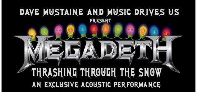 MEGADETH Plays Special 'Music Drives Us' Acoustic Show At Boston's Hard Rock Café (Video)