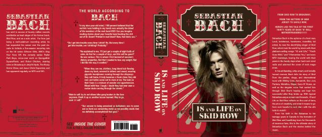 SEBASTIAN BACH 'Would Welcome' Autobiographies From Other Members Of SKID ROW's Classic Lineup